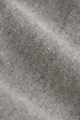 Fine knit cotton jumper