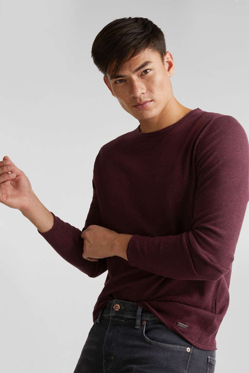 edc - Fine knit cotton jumper