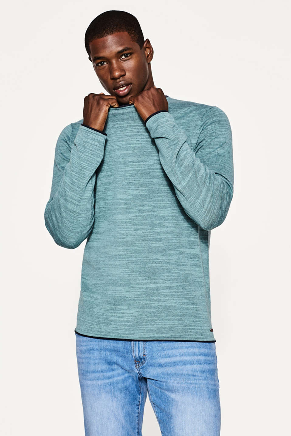 edc - Melange cotton blend jumper