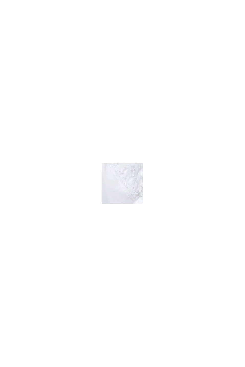 Sujetador de aros sin relleno con encaje, WHITE, swatch