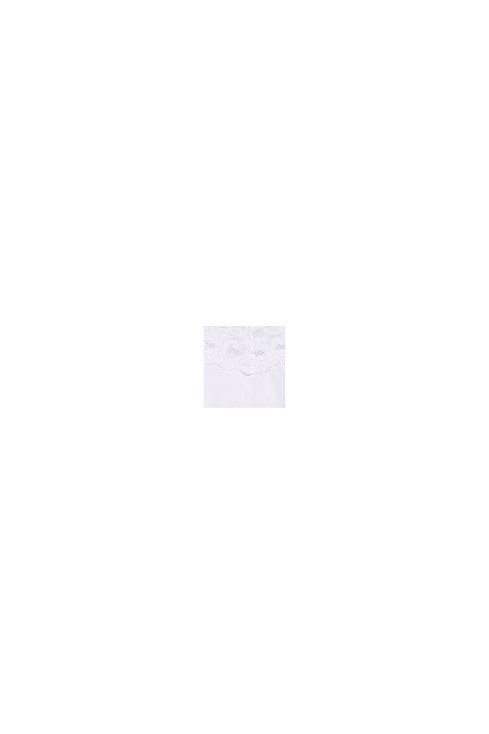Shorty taille basse en microfibre, WHITE, swatch