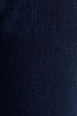 Stretch jeans with organic cotton, BLUE DARK WASH, detail