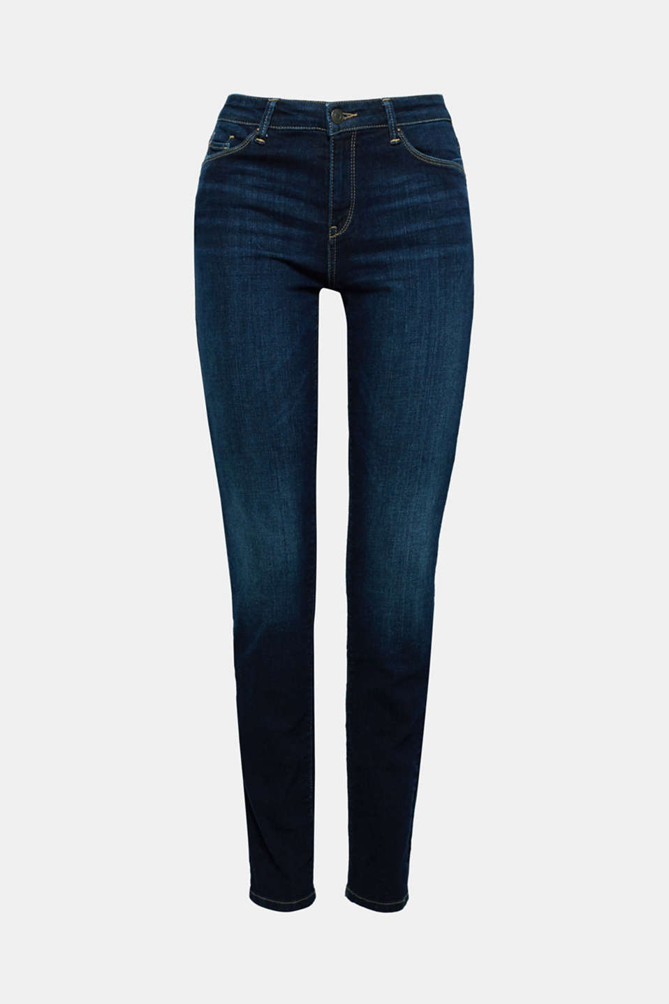 Containing premium, environmentally-friendly organic cotton: these stretch jeans are skin-tight and mega comfy!