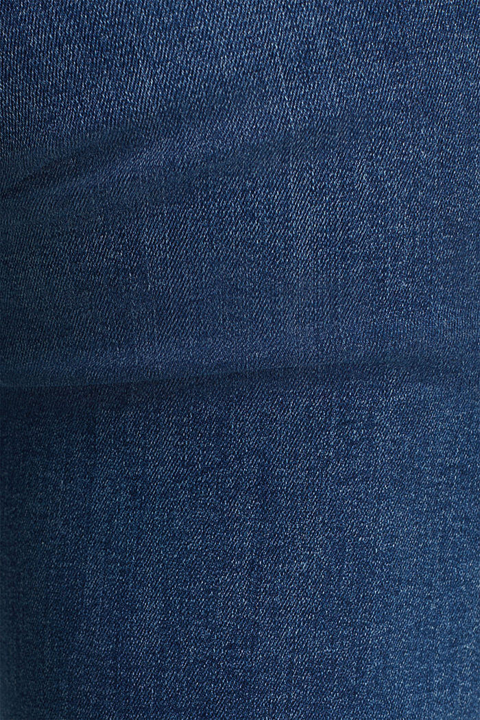 Stretch-Denim mit Organic Cotton, BLUE MEDIUM WASHED, detail image number 3