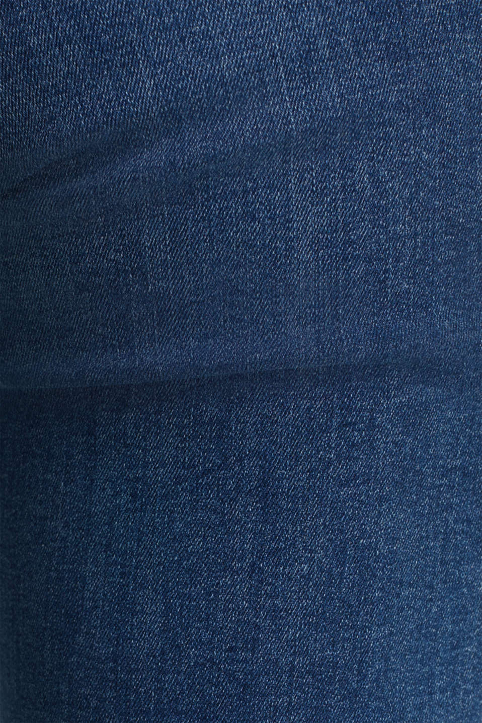 Stretch jeans with organic cotton, BLUE MEDIUM WASH, detail image number 3