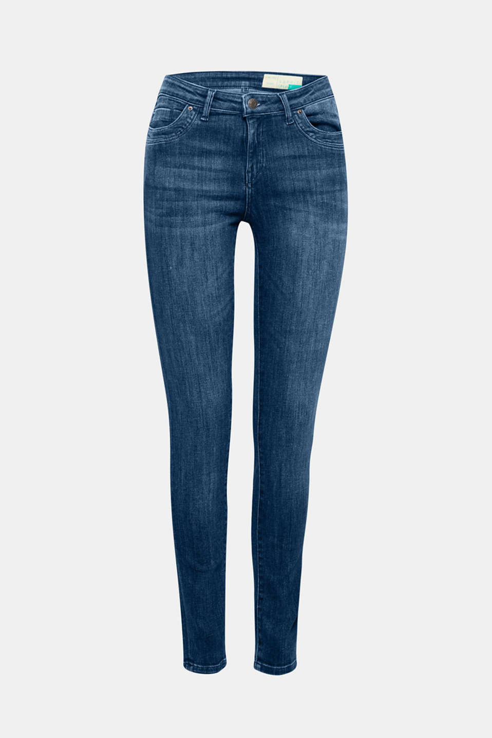 Made of premium organic cotton: These slightly thicker stretch denim jeans come in a skinny fit!