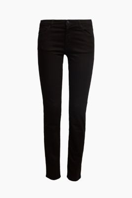 Stretch jeans containing organic cotton, BLACK, detail