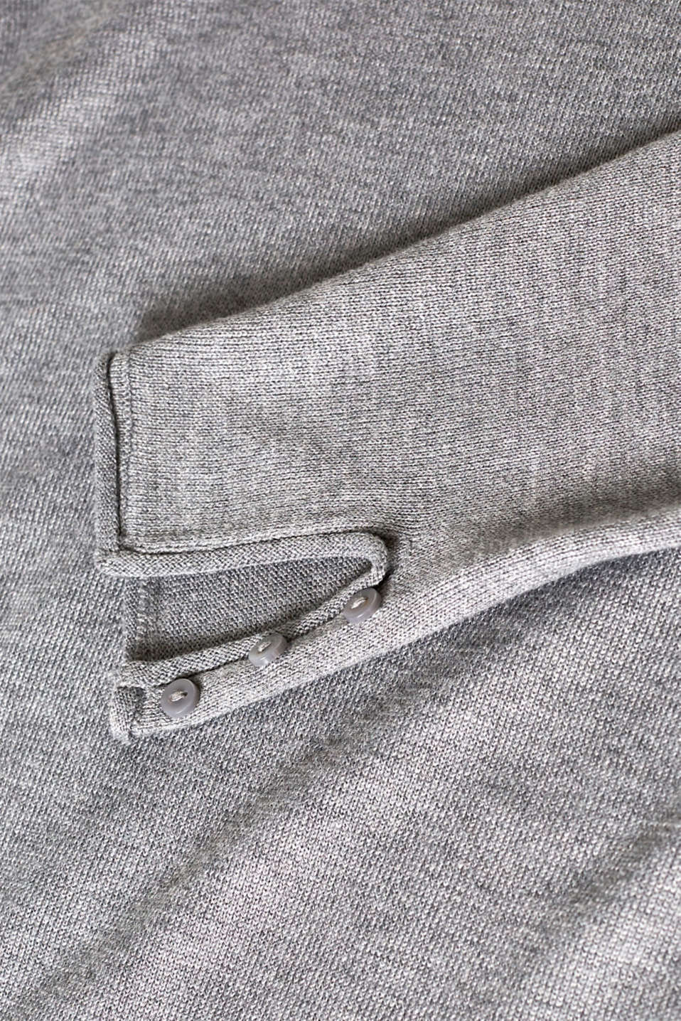 Sweaters, GUNMETAL 5, detail image number 4