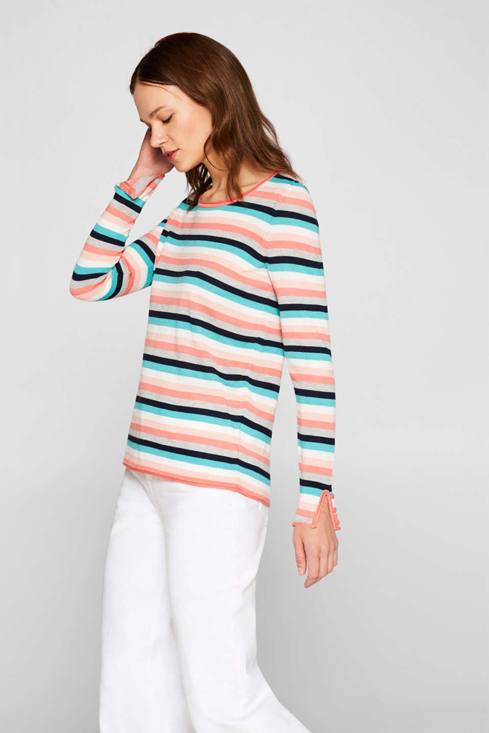 Sweaters, CORAL 2, detail image number 0