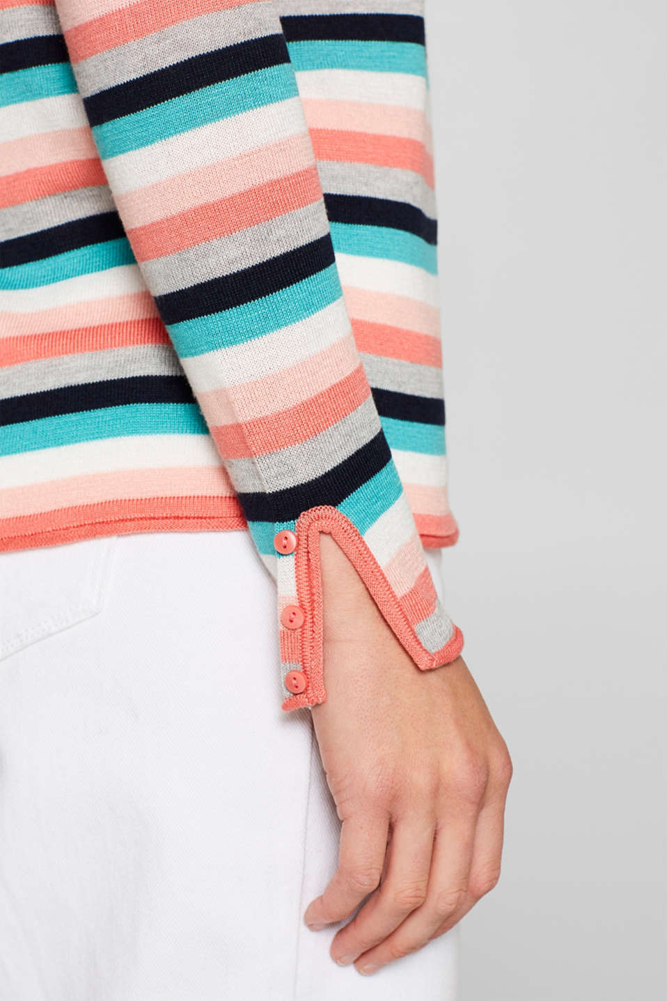 Sweaters, CORAL 2, detail image number 2