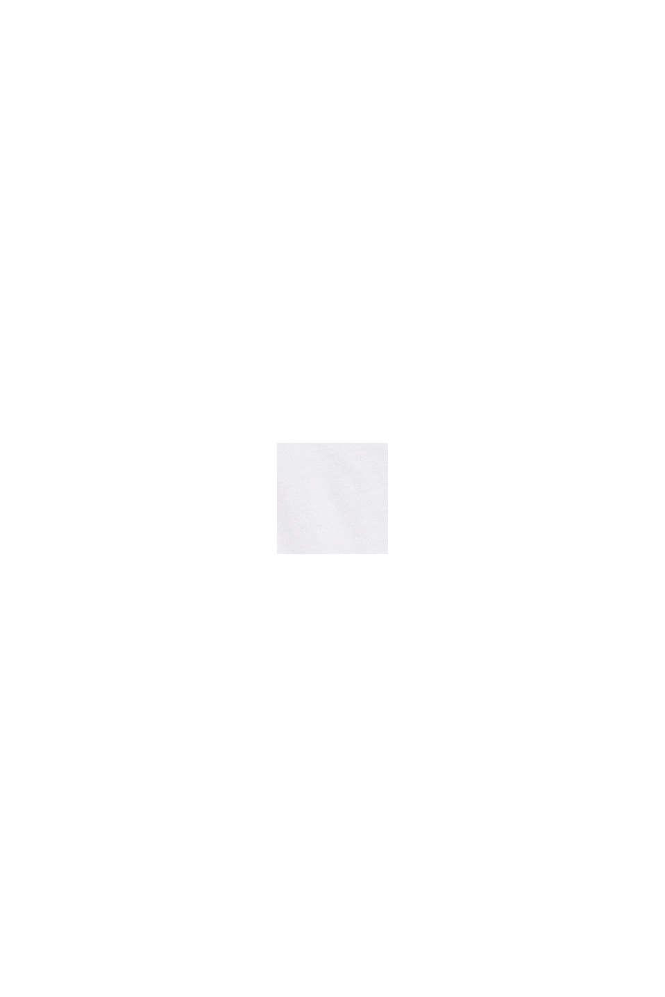 Basic-Top aus Baumwoll-Stretch, WHITE, swatch