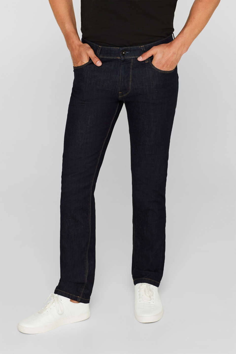 Esprit - Stretch-Jeans aus Organic Cotton