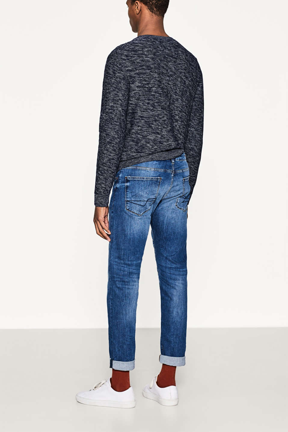 Dynamic denim with ultra stretchy comfort