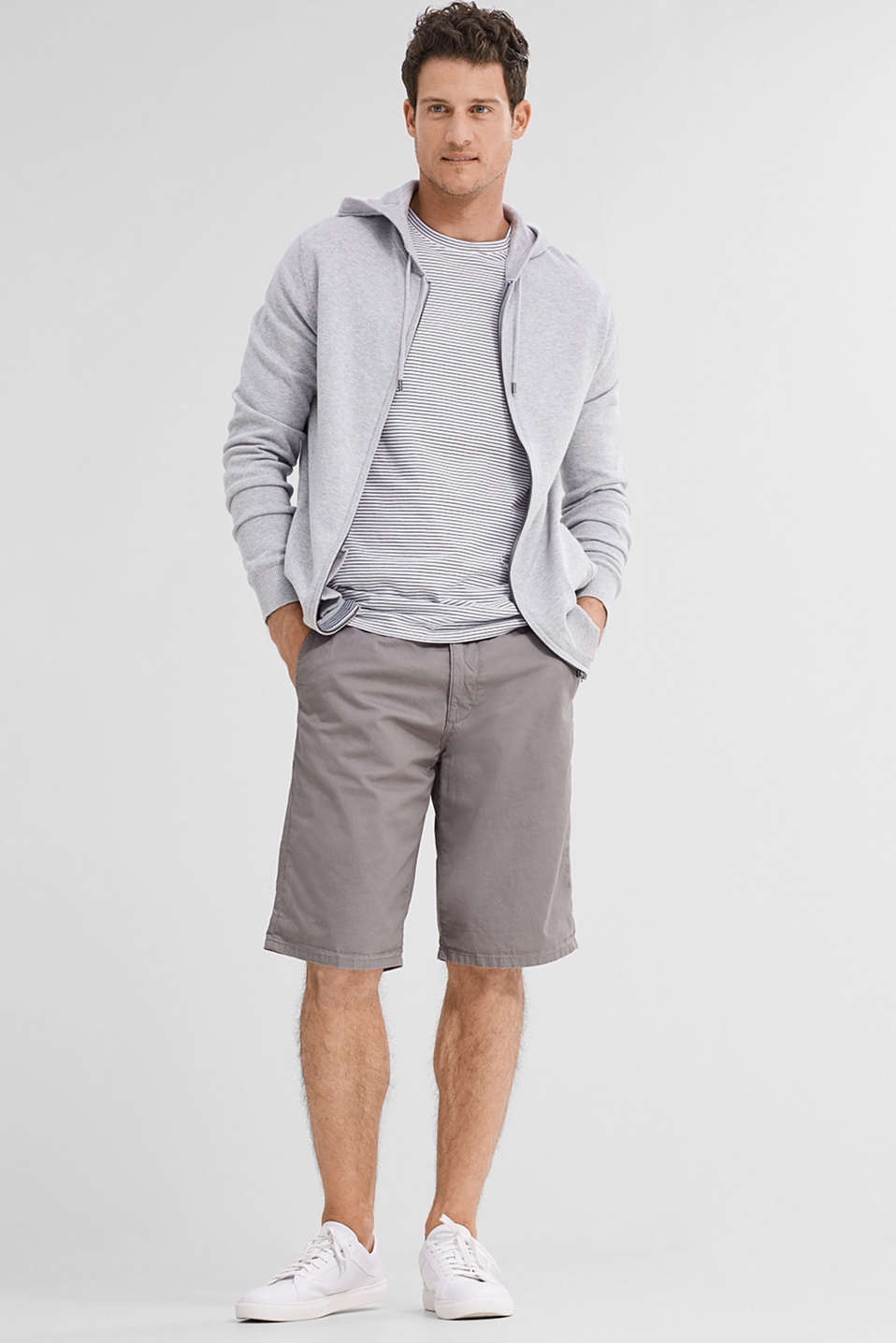 Esprit - Comfortable Bermudas in 100% cotton