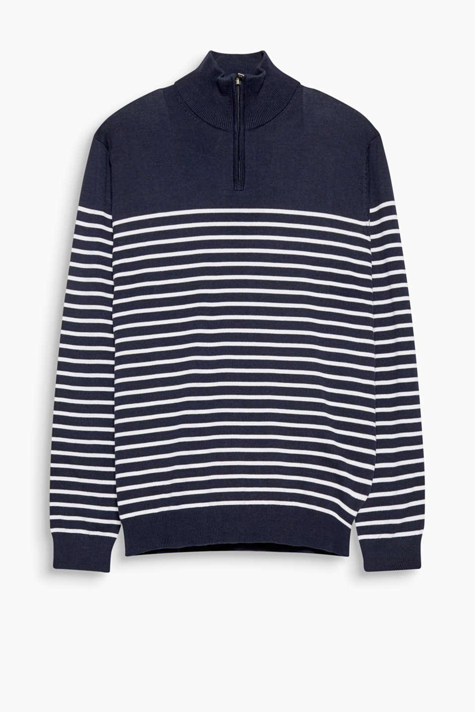 Esprit Feinstrick Pullover aus 100% Baumwolle im Online
