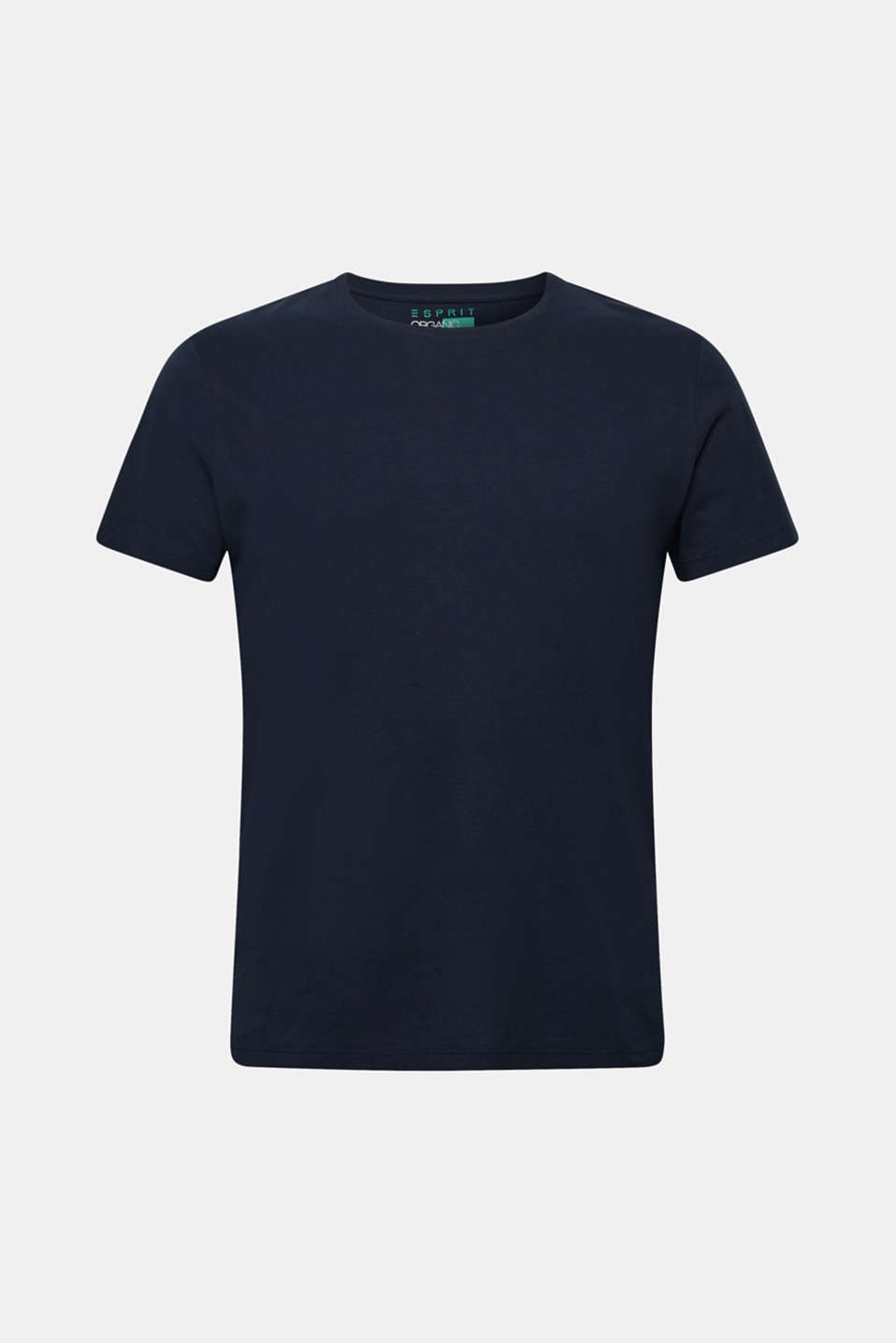 Round neck T-shirt made of pure organic cotton