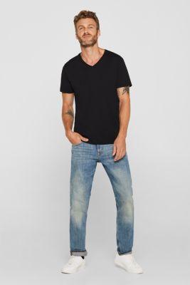 Jersey shirt made of organic cotton, BLACK, detail