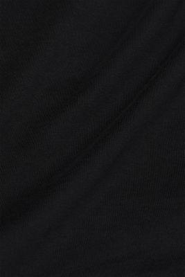 Jersey shirt made of organic cotton, BLACK, detail