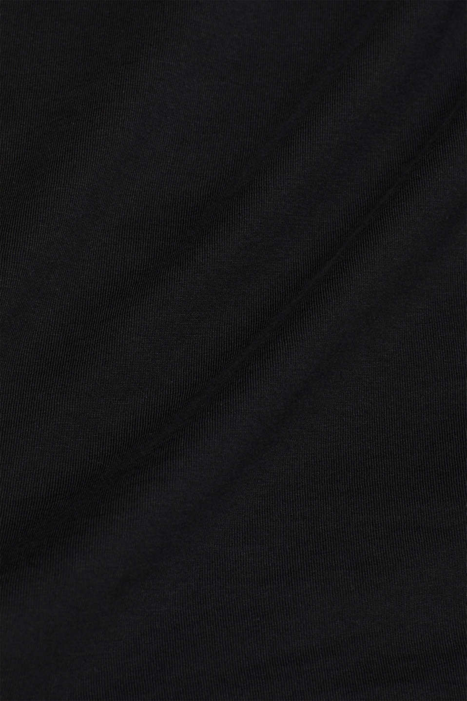 Jersey shirt made of organic cotton, BLACK, detail image number 0