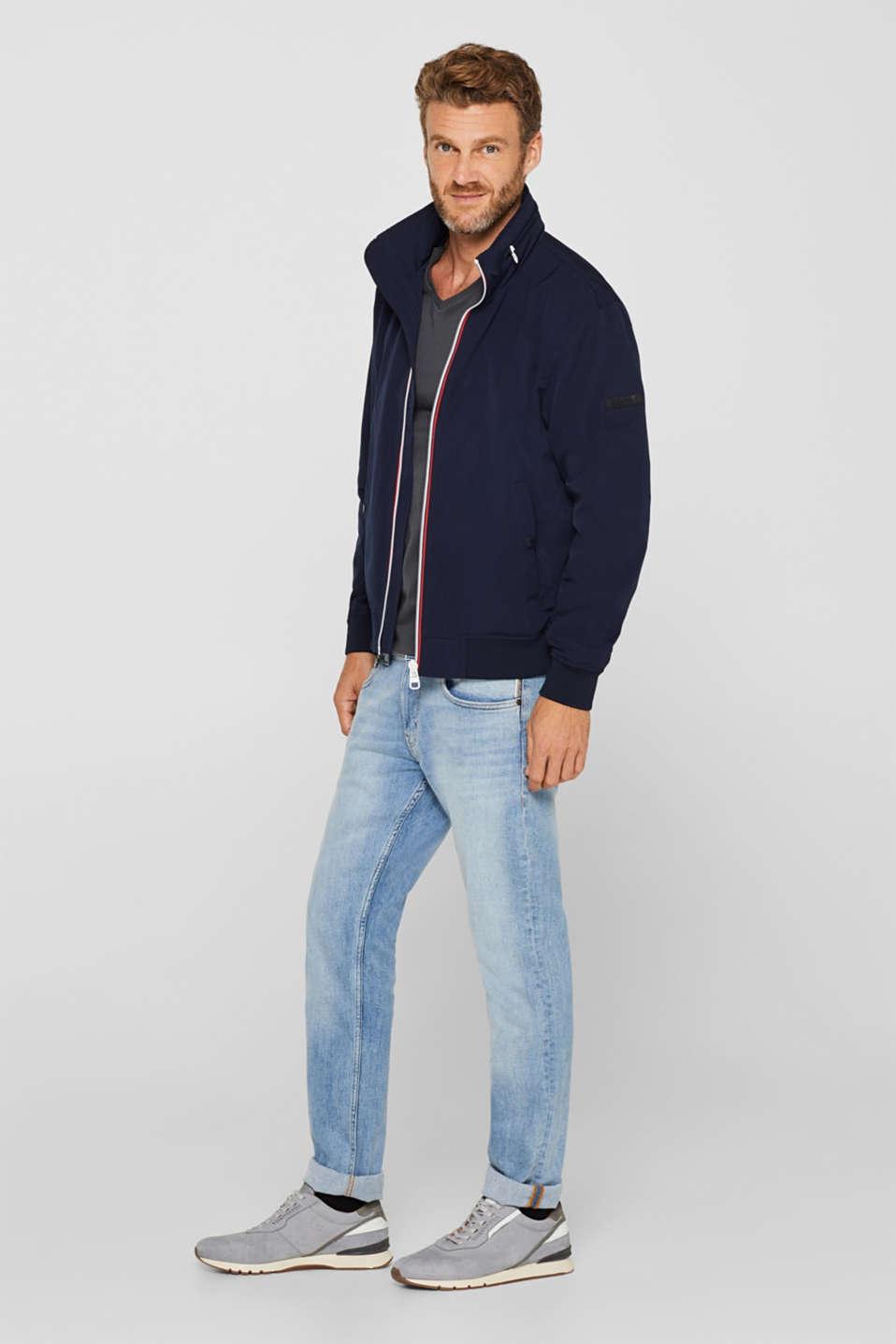 Jersey shirt made of organic cotton, DARK GREY, detail image number 2