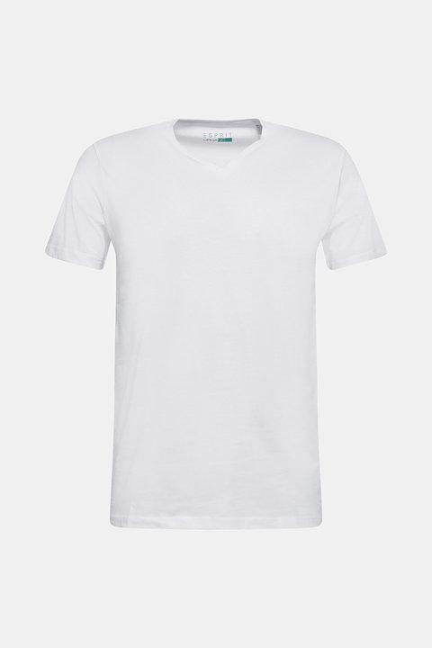 Jersey shirt made of organic cotton