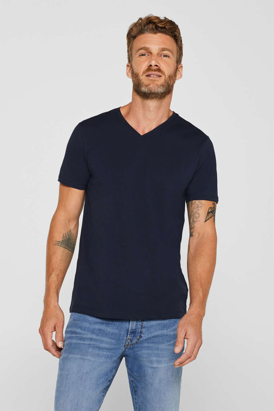 Esprit - Jersey shirt made of organic cotton