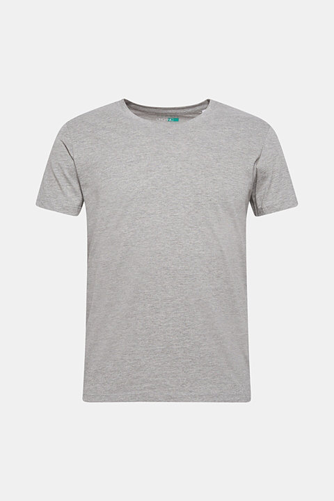 Jersey T-shirt made of an organic cotton blend