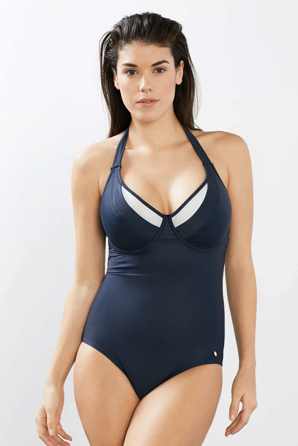 Padded swimsuit for large cup sizes