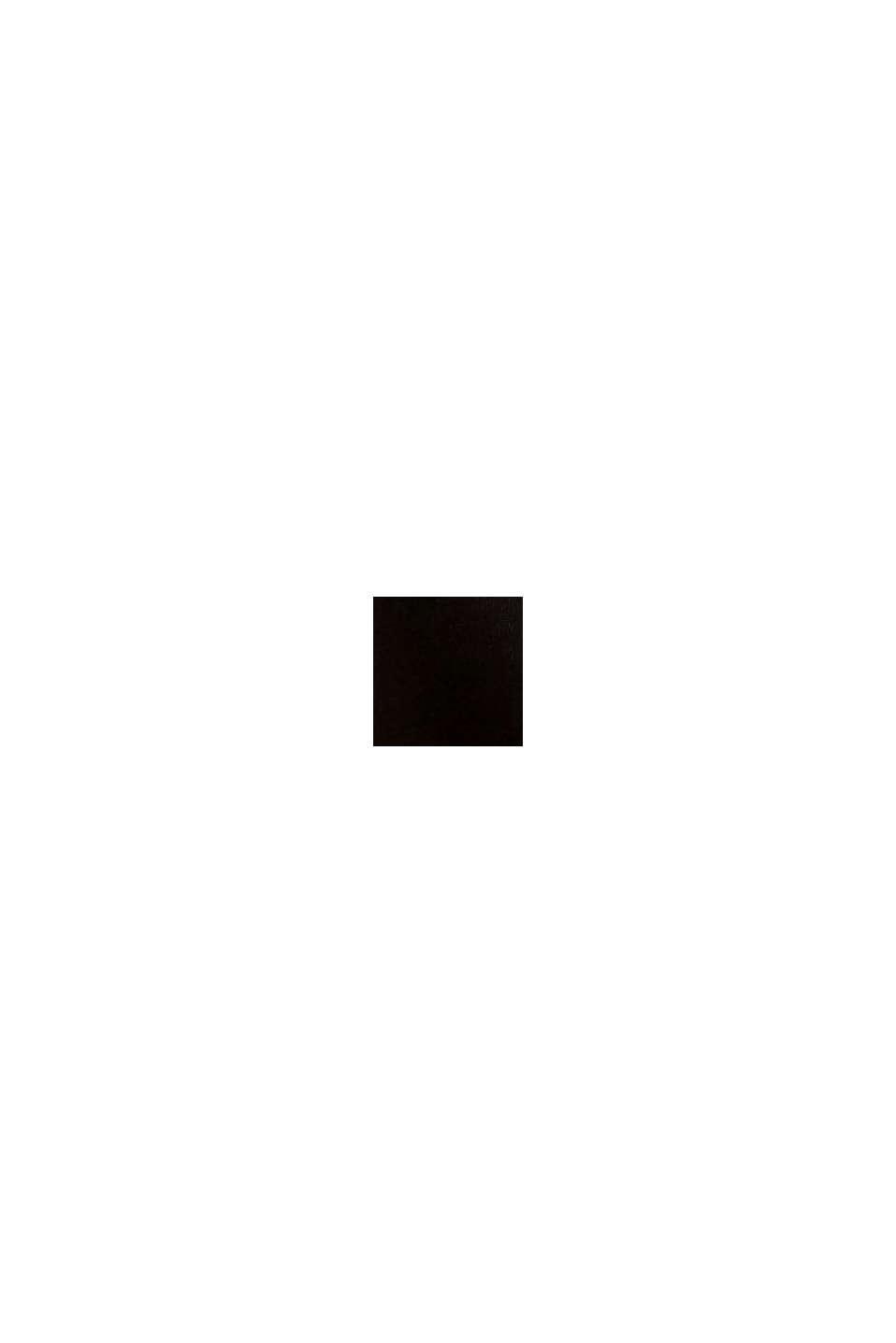 Wattierter Microfaser-BH ohne Bügel, BLACK, swatch