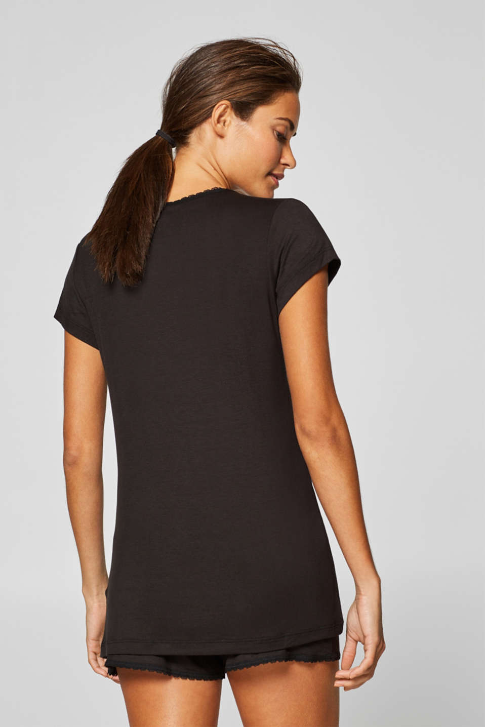 Night-T-Shirts, BLACK, detail image number 1