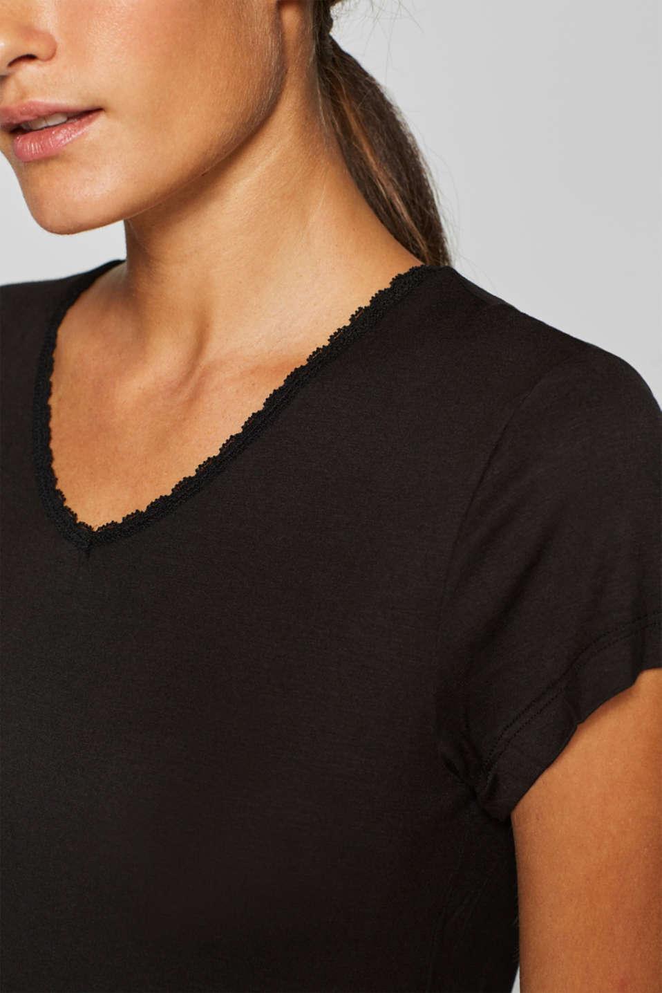 Night-T-Shirts, BLACK, detail image number 2