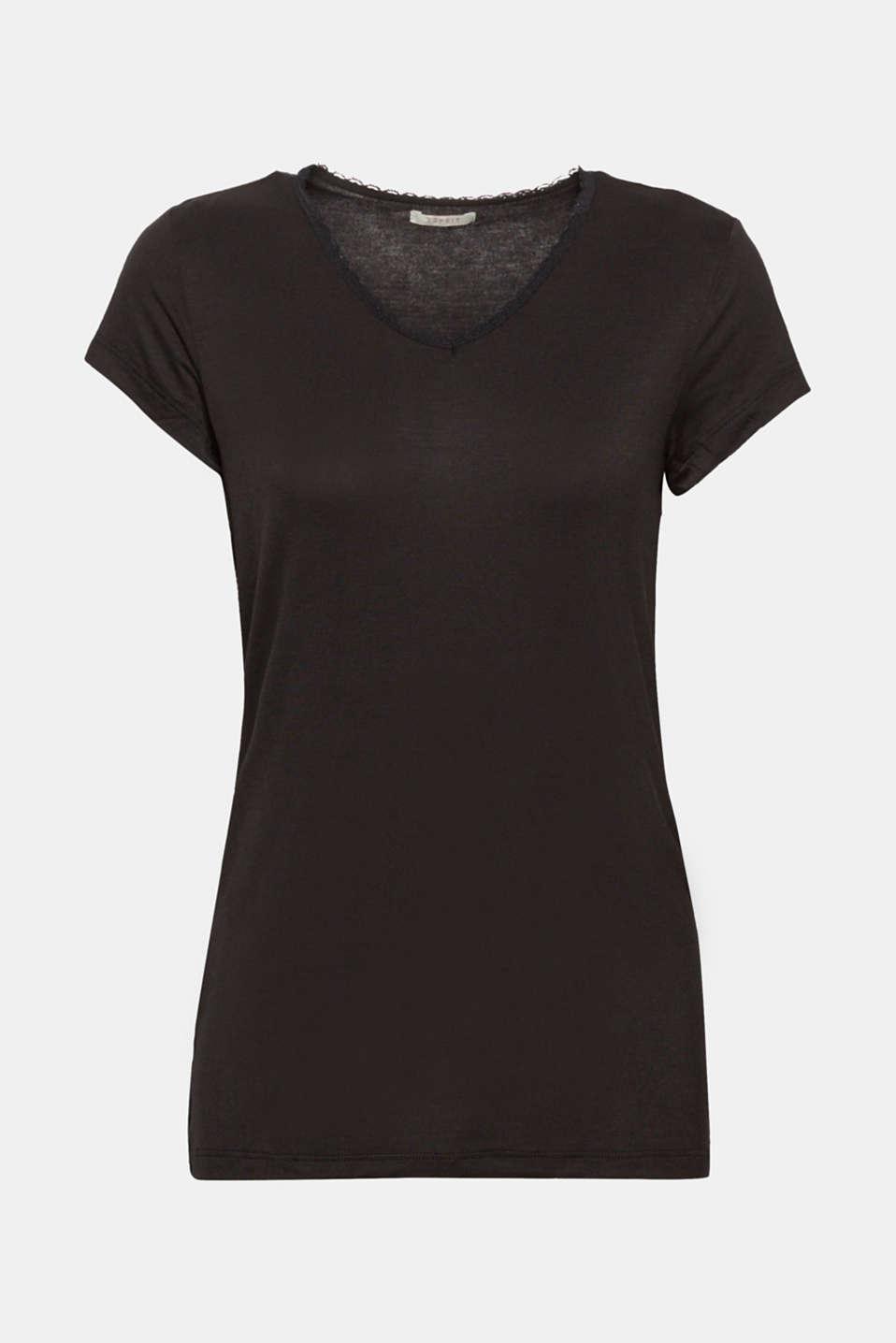 Night-T-Shirts, BLACK, detail image number 5
