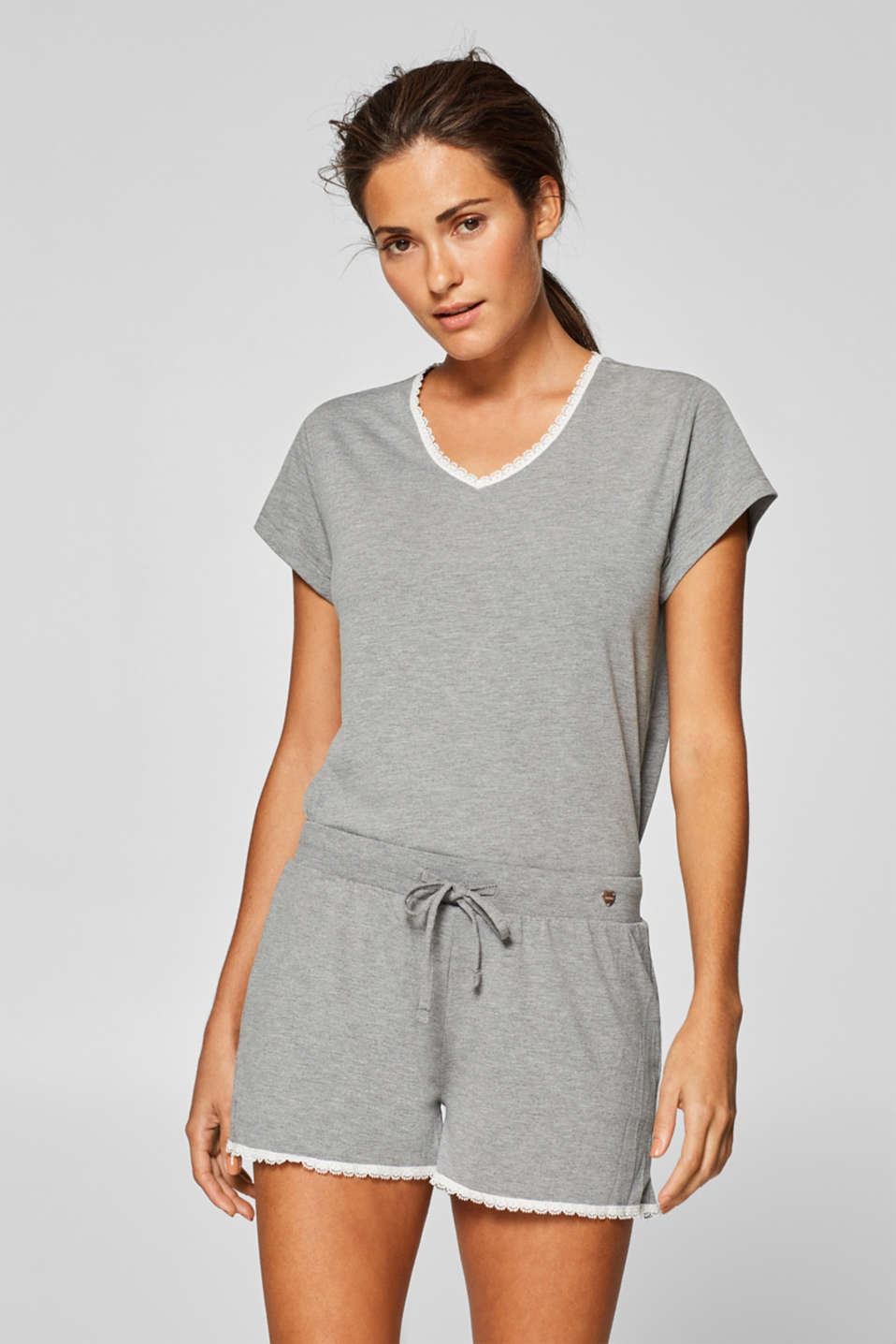 Esprit - Fließende Jersey-Stretch-Shorts