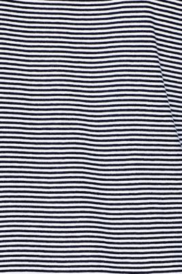 Jersey nightdress in 100% cotton, NAVY, detail