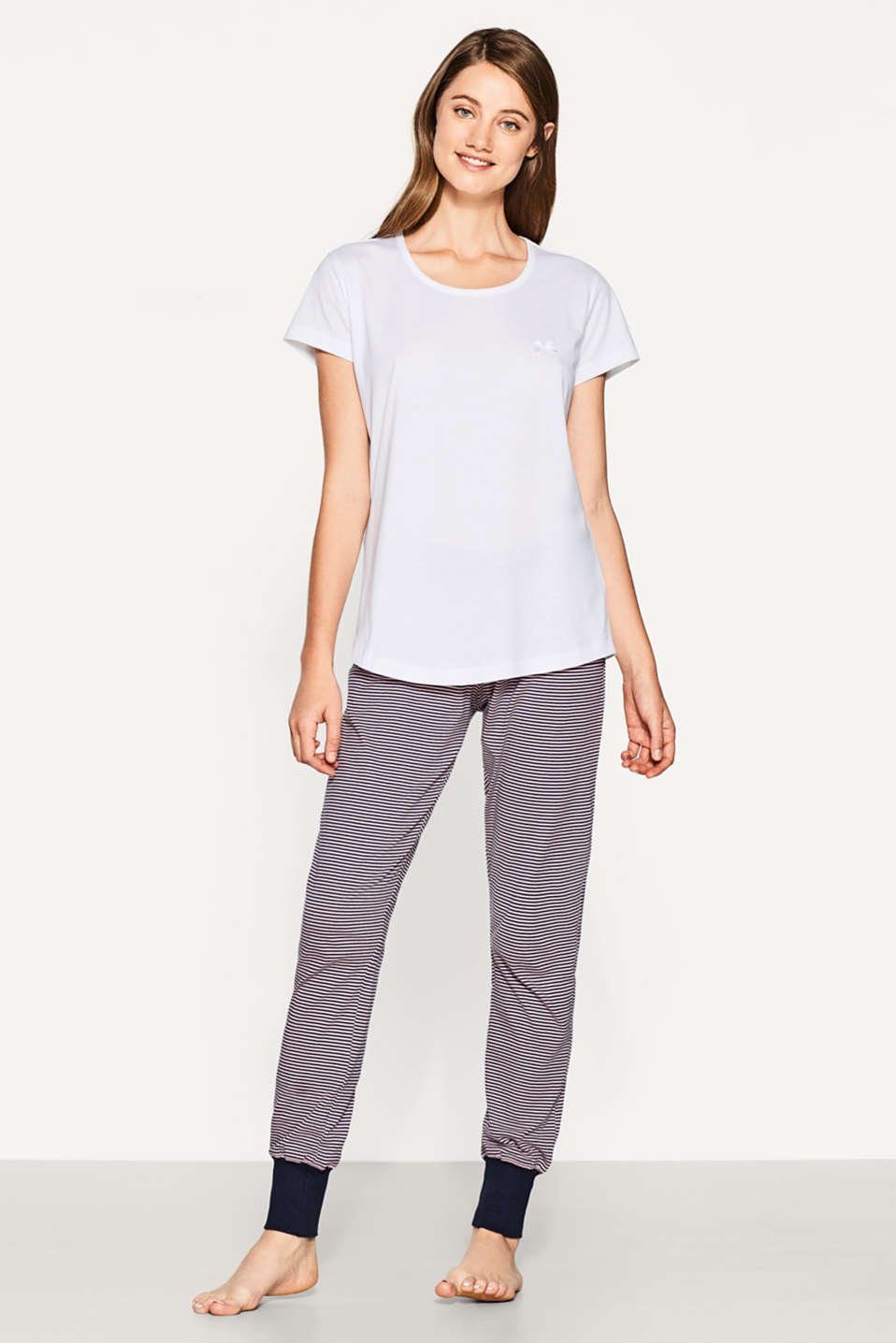 Esprit - Super-softes Basic-Shirt, 100% Baumwolle