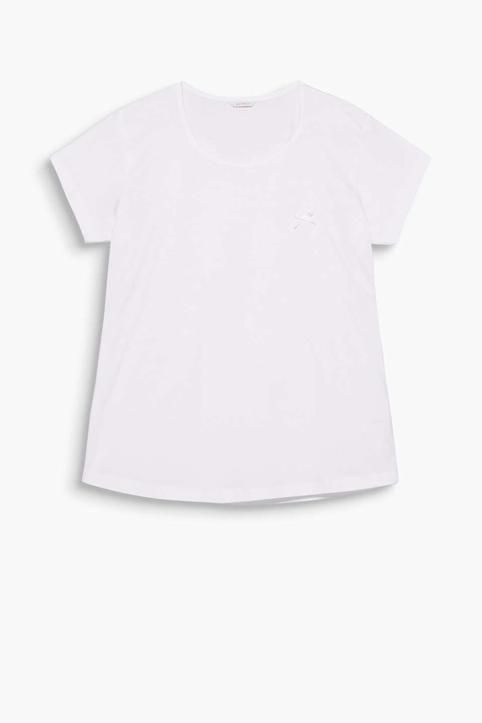 Esprit - Supersoft basic top, 100% cotton