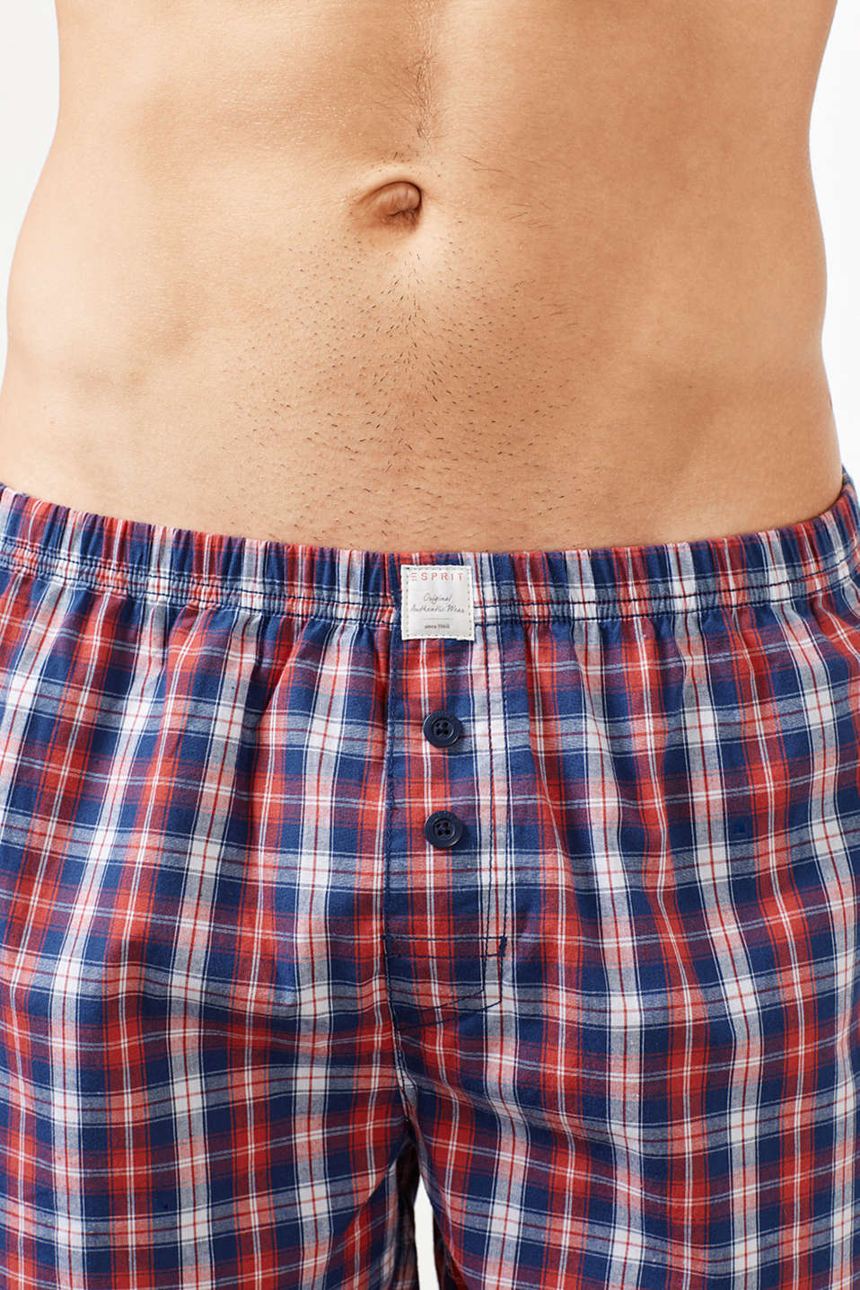 Double pack of shorts, 100% cotton, RED, detail image number 1