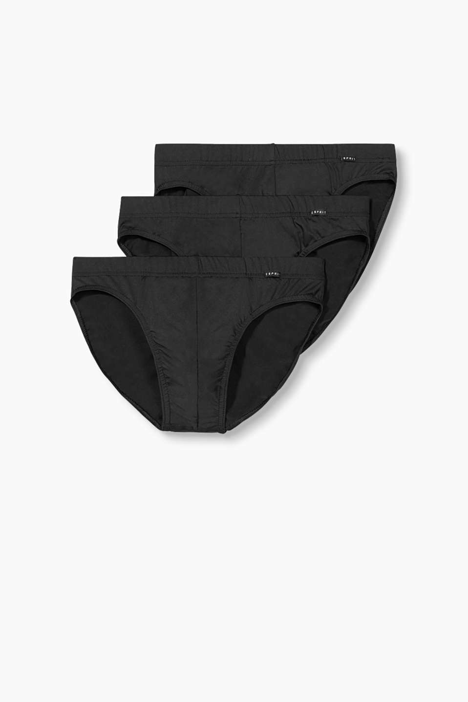 Esprit - Three pack of micro briefs