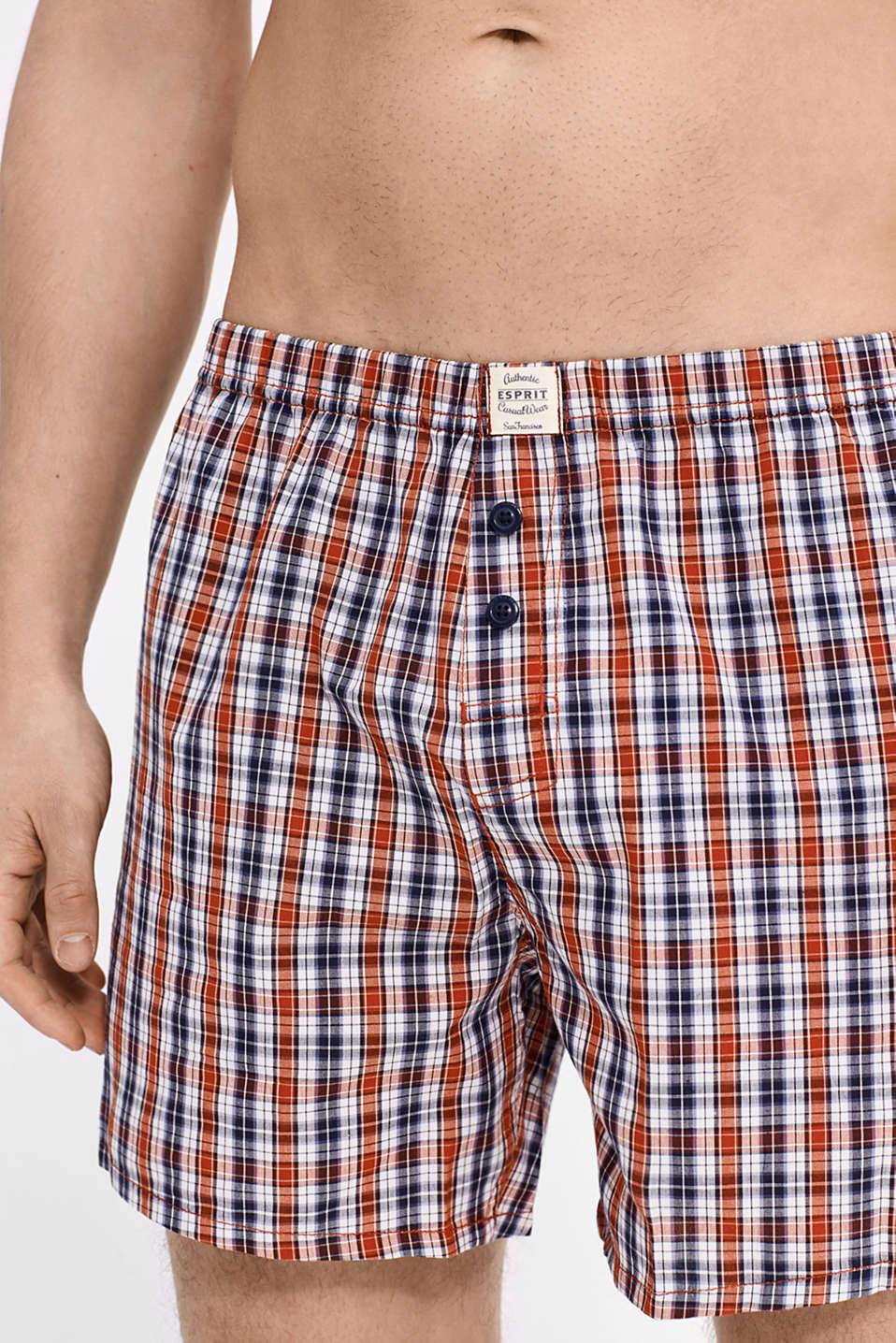 esprit woven boxer shorts 100 cotton at our online shop. Black Bedroom Furniture Sets. Home Design Ideas