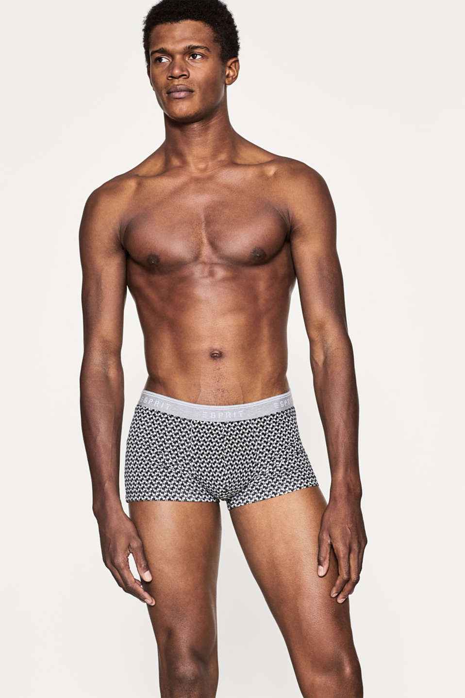 Esprit - Hipster-shorts i bomuld/stretch