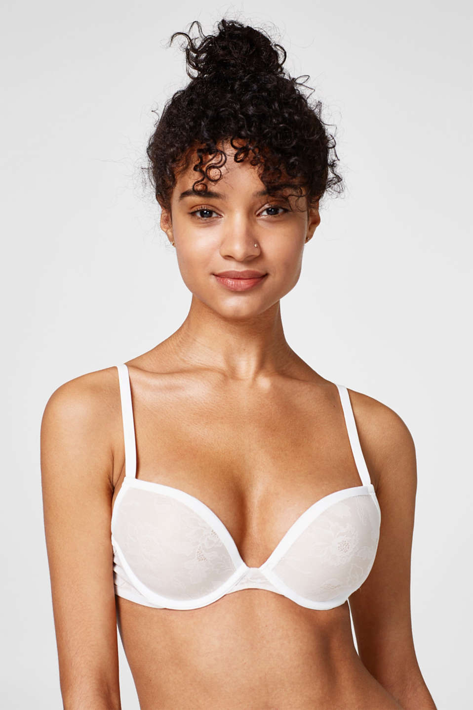 Esprit - NYE push-up bra in floral lace
