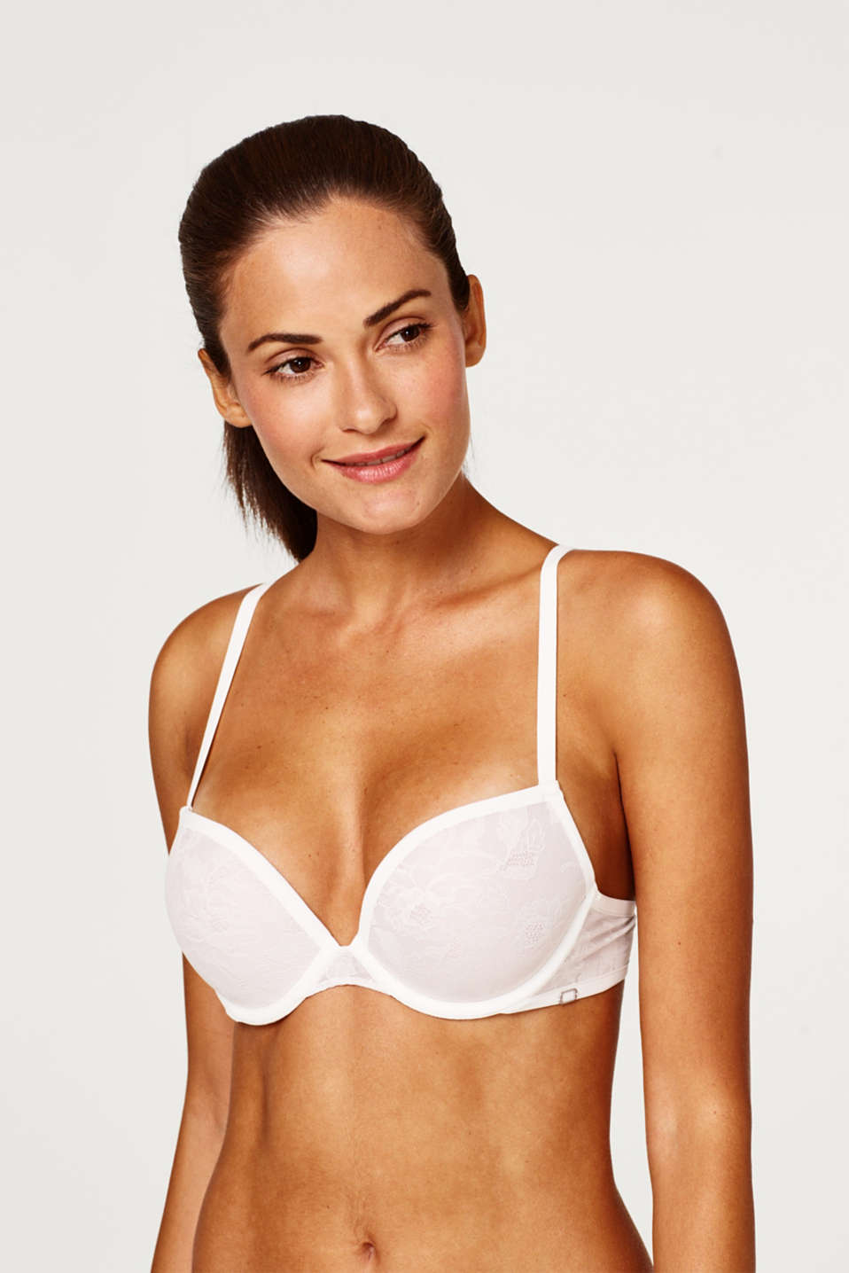 Bras with wire, OFF WHITE 2, detail image number 0