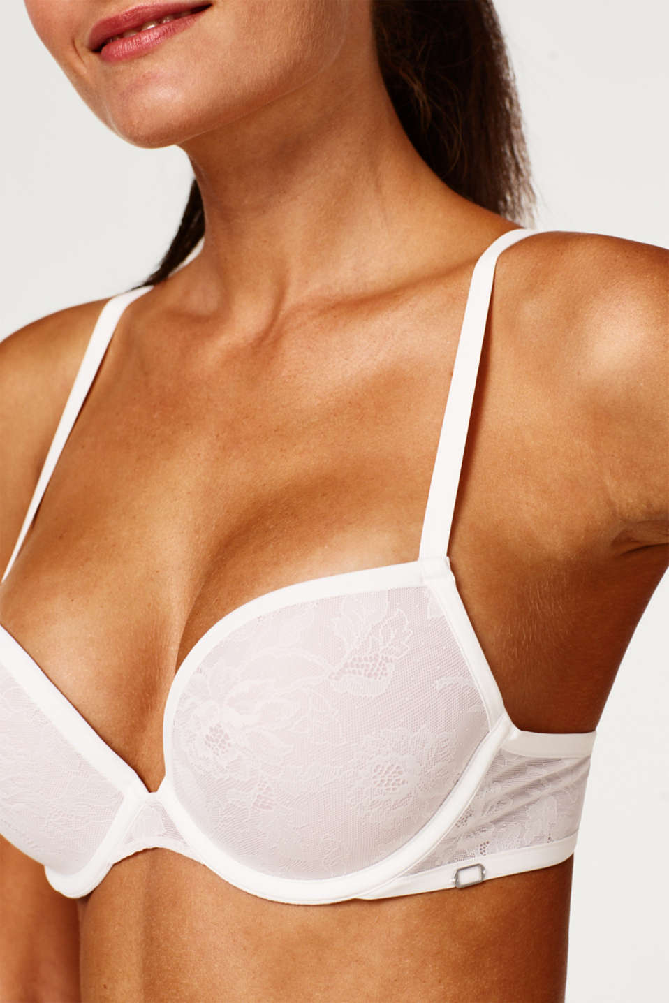 Bras with wire, OFF WHITE 2, detail image number 2