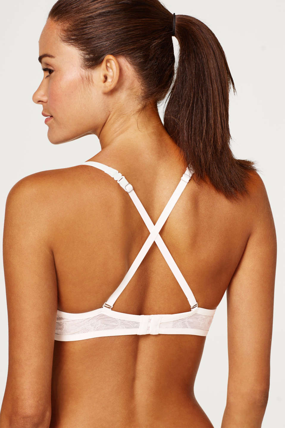 Bras with wire, OFF WHITE 2, detail image number 3