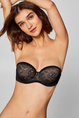 NYE padded underwire bra with detachable straps