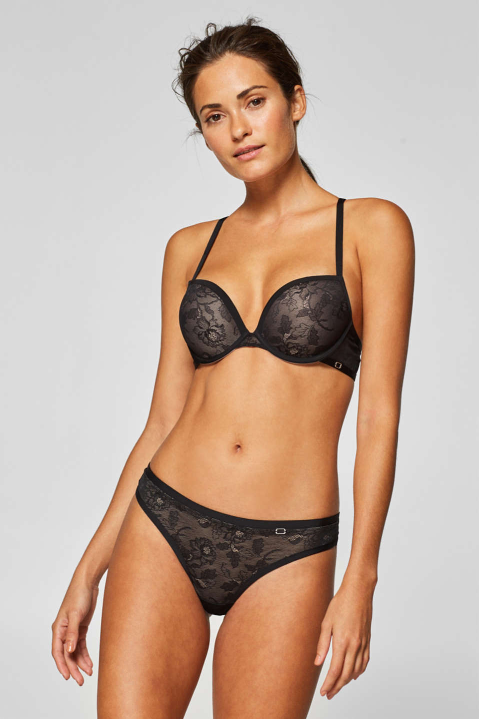 Esprit - NYE hipster thong in floral lace