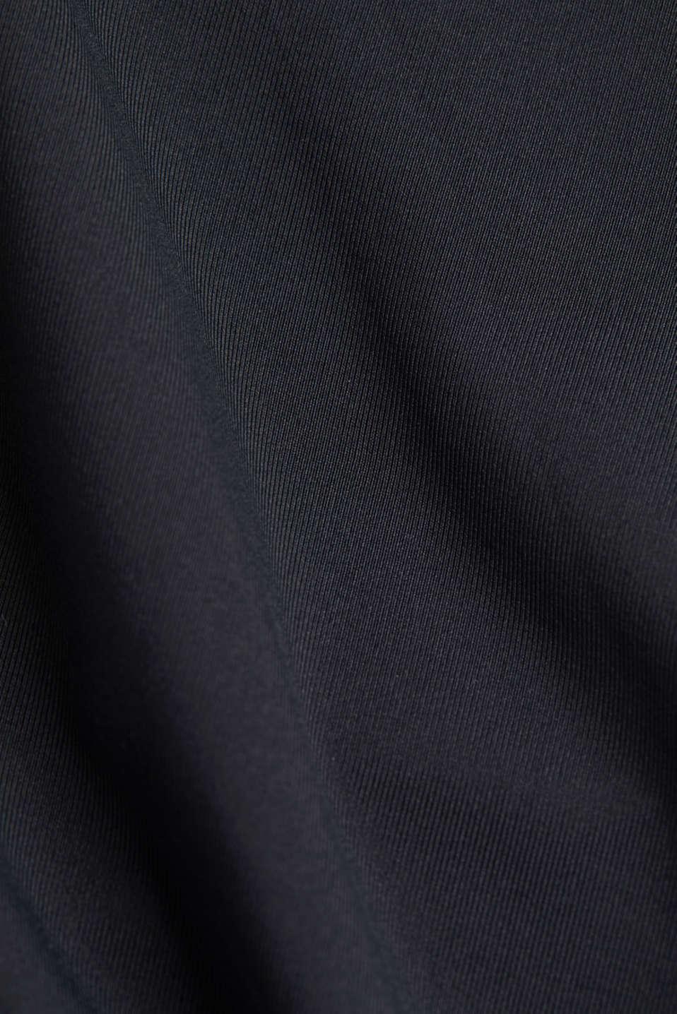 Active logo waistband leggings, E-DRY, BLACK, detail image number 4