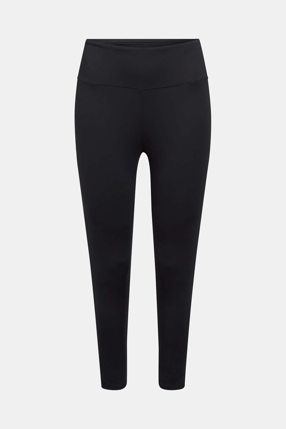 These leggings with a wide logo waistband and E-DRY technology are your basic for various activities!