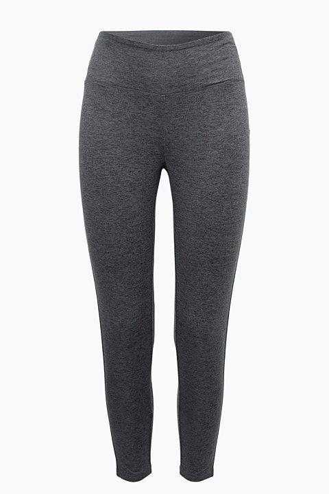 Melange 7/8 leggings, comfort waist E-DRY