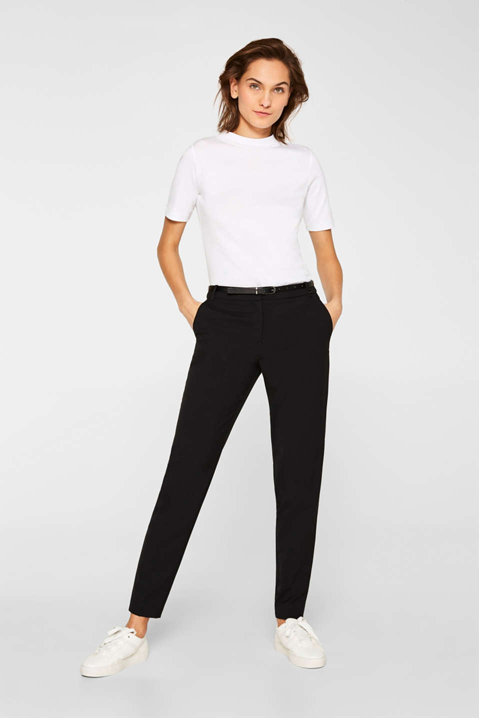 Esprit - PURE BUSINESS mix + match stretch trousers